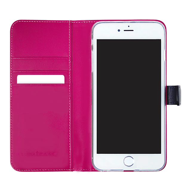 【iPhone6s/6 ケース】COWSKIN Diary Navy×Pink for iPhone6s/6サブ画像