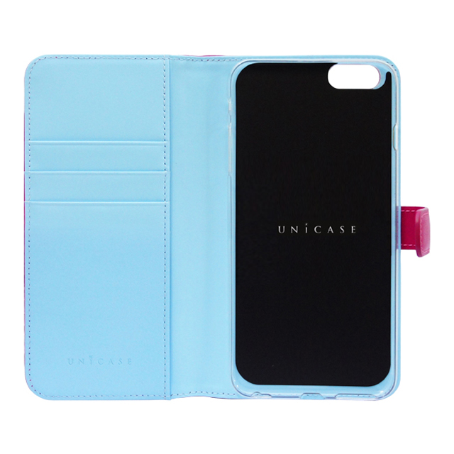 【iPhone6s/6 ケース】COWSKIN Diary Pink×Blue for iPhone6s/6サブ画像