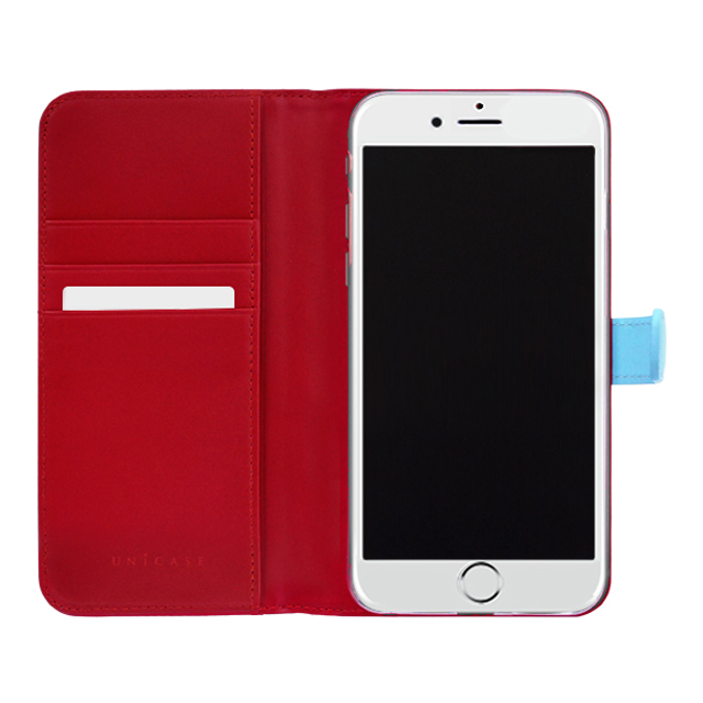 【iPhone6s/6 ケース】COWSKIN Diary Blue×Red for iPhone6s/6サブ画像