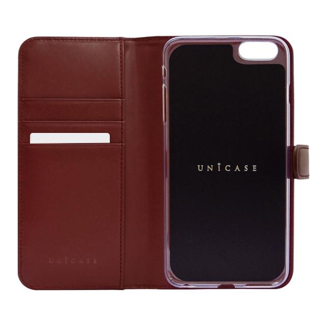 【iPhone6s/6 ケース】COWSKIN Diary Nicotine×Campari for iPhone6s/6サブ画像