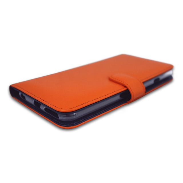 【iPhone6s/6 ケース】COWSKIN Diary Orange×Navy for iPhone6s/6
