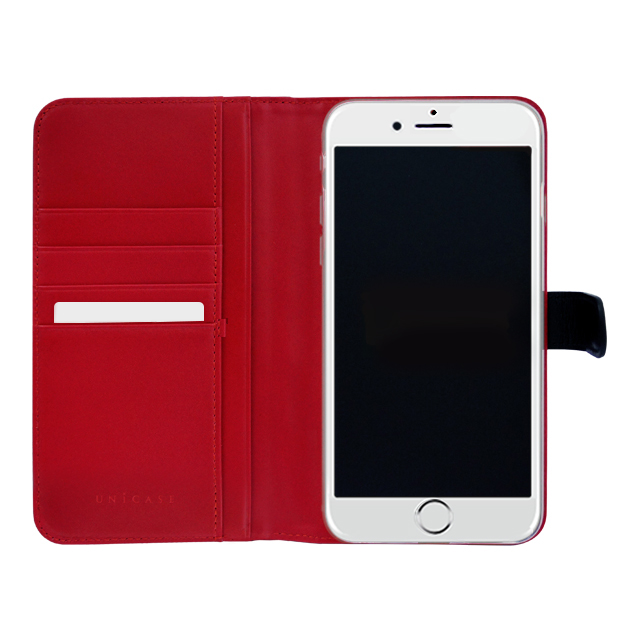 【iPhone6s Plus/6 Plus ケース】COWSKIN Diary Black×Red for iPhone6s Plus/6 Plusサブ画像