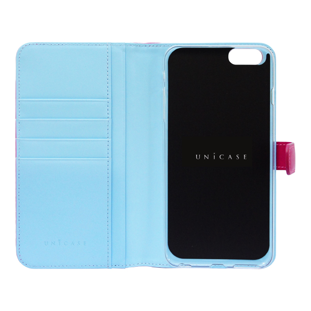 【iPhone6s Plus/6 Plus ケース】COWSKIN Diary Pink×Blue for iPhone6s Plus/6 Plusサブ画像