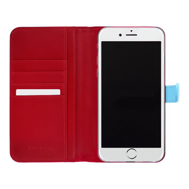 【iPhone6s Plus/6 Plus ケース】COWSKIN Diary Blue×Red for iPhone6s Plus/6 Plusサブ画像