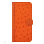 【iPhone6s/6 ケース】OSTRICH Diary Orange for iPhone6s/6