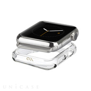 【AppleWatch Series3/2/1(38mm) ケース】Naked Tough Bumper Case (Clear)