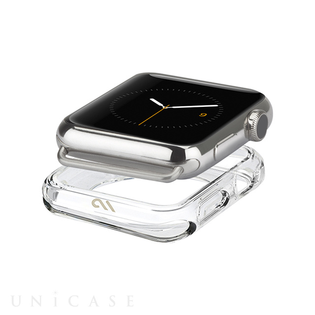 【AppleWatch/Series1 ケース (38mm)】Naked Tough Bumper Case (Clear)