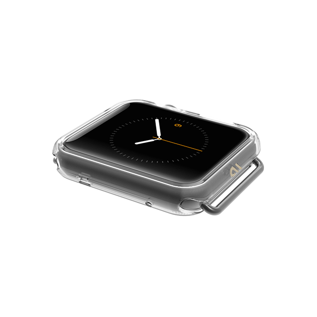 【AppleWatch Series1(38mm) ケース】Naked Tough Bumper Case (Clear)サブ画像
