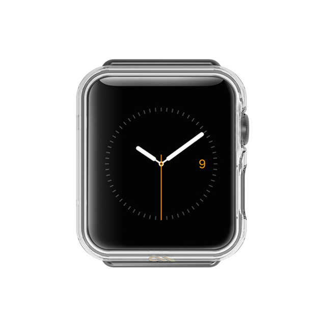 【AppleWatch Series3/2/1(42mm) ケース】Naked Tough Bumper Case (Clear)サブ画像