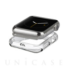 【AppleWatch/Series1 ケース (42mm)】Naked Tough Bumper Case (Clear)