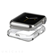 【AppleWatch Series1(42mm) ケース】Naked Tough Bumper Case (Clear)