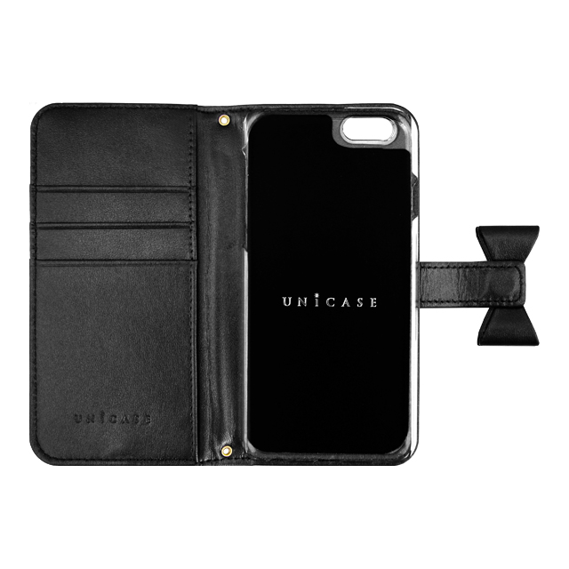 【iPhone6s/6 ケース】Ribbon Diary Black for iPhone6s/6サブ画像