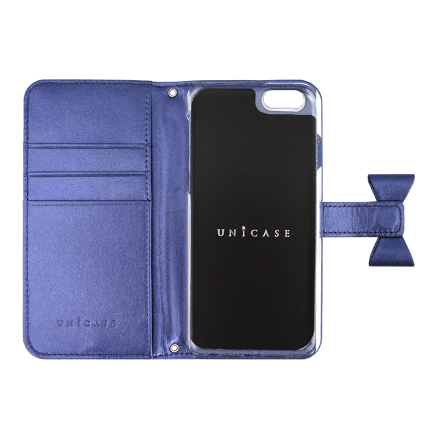 【iPhone6s/6 ケース】Ribbon Diary Navy for iPhone6s/6サブ画像