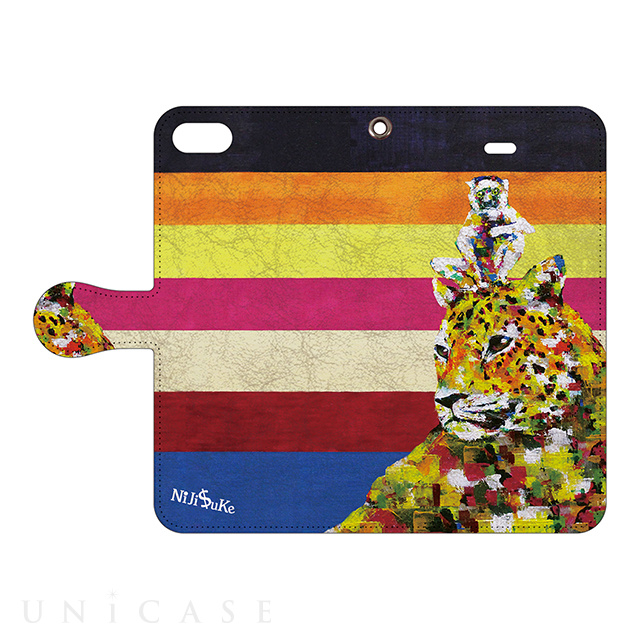 【iPhone6s/6 ケース】NiJi$uKe Folioケース (豹シファカ)