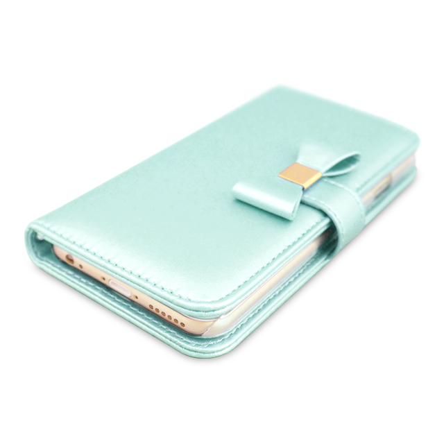 【iPhone6s Plus/6 Plus ケース】Ribbon Diary Sky Blue for iPhone6s Plus/6 Plusサブ画像