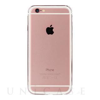 iPhone6s/6 ケース FRAME x FRAME SHOCKMOUNT ローズゴールド/ホワイト