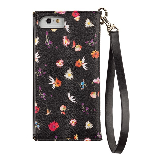 【iPhone6s/6 ケース】REBECCAMINKOFF Leather Folio Wristlet (Botanical Floral)サブ画像