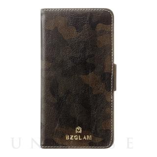 【iPhone6s/6 ケース】BZGLAM カモフラージュダイアリーカバー グリーン