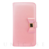 【マルチ スマホケース】Ribbon Diary Baby Pink for 5.5inch