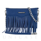 【iPhone7/6s/6 ケース】REBECCAMINKOFF Crossbody with Fringe (Cobalt)