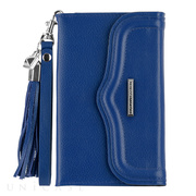 【iPhone11 Pro/XS/X/8/7/6s/6 ケース】REBECCAMINKOFF Wristlet with Tassle (Cobalt)