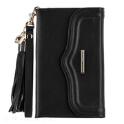 【iPhoneXS/X/8/7/6s/6 ケース】REBECCAMINKOFF Wristlet with Tassle (Black)