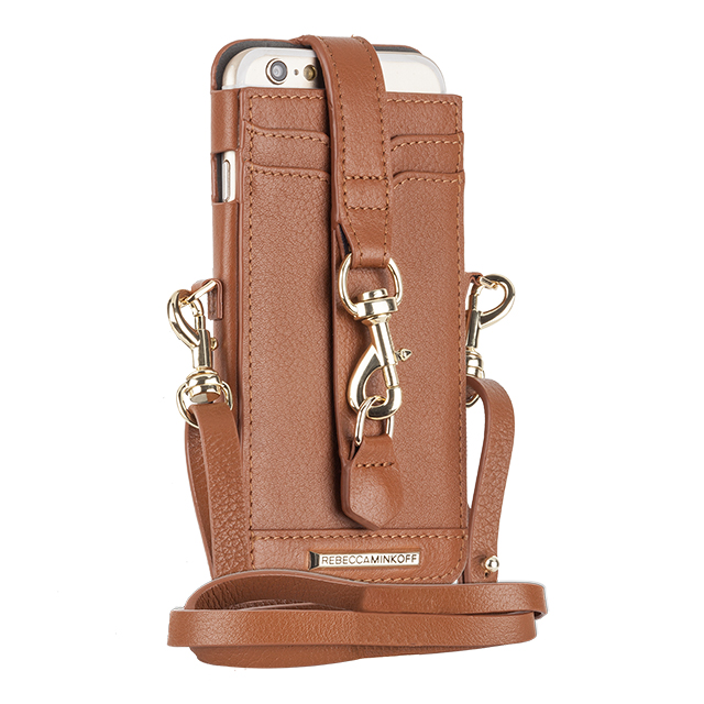 【iPhone6s/6 ケース】REBECCAMINKOFF Crossbody Sleeve with Dogclip & Crossbody Strap (Almond)サブ画像