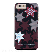 【iPhone6s/6 ケース】REBECCAMINKOFF Hybrid Tough Prints (Striped Red Stars)