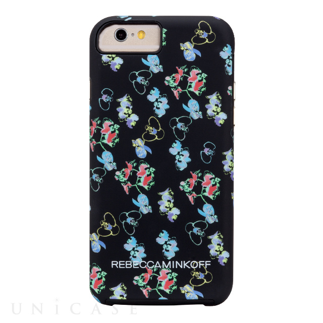 【iPhone6s/6 ケース】REBECCAMINKOFF Hybrid Tough Prints (Orchids)