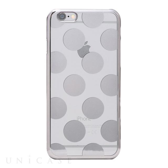 【iPhone6s Plus/6 Plus ケース】メタルデザインハードケース「Metal Design」 ドット柄