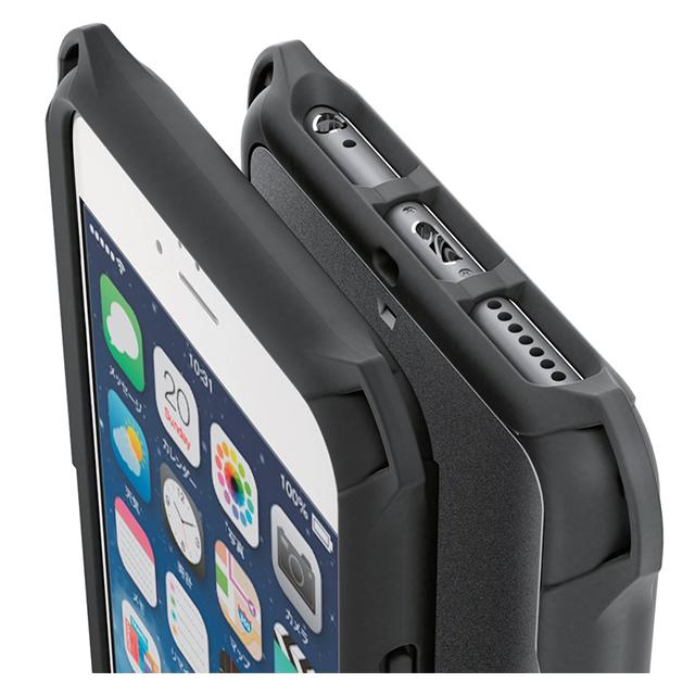 cd71eed6b6 iPhone6s Plus/6 Plus ケース】ゼロショックケース/ブラック ELECOM ...