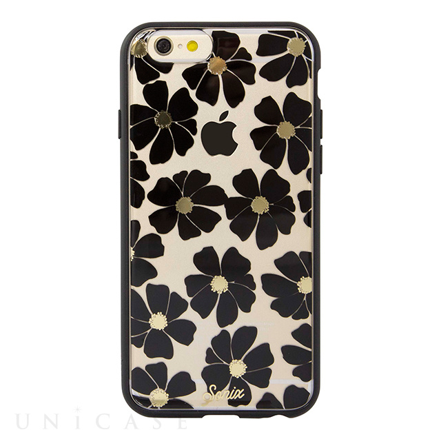 【iPhone6s/6 ケース】CLEAR (Wildflower Black)