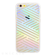 【iPhone6s/6 ケース】CLEAR (Criss Cross Rainbow)