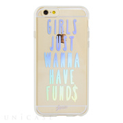 【iPhone6s/6 ケース】CLEAR (Girls Just Wanna Have Funds)
