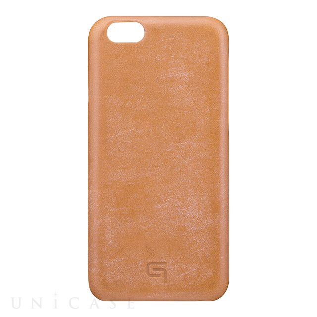 【iPhone6s/6 ケース】Bridle Leather Case (Tan)