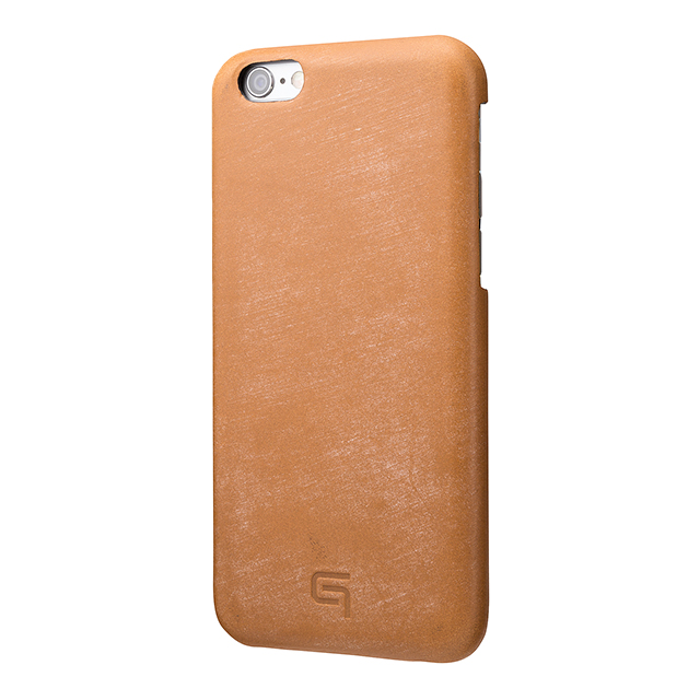 【iPhone6s/6 ケース】Bridle Leather Case (Tan)サブ画像