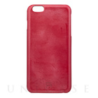 【iPhone6s Plus/6 Plus ケース】Bridle Leather Case (Red)