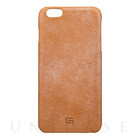 【iPhone6s Plus/6 Plus ケース】Bridle Leather Case (Tan)
