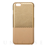 "【iPhone6s Plus/6 Plus ケース】Back Leather Case ""Hex"" (Gold)"