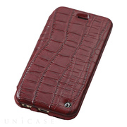 【iPhone6s/6 ケース】Luxury Genuine Leather Case (Red)