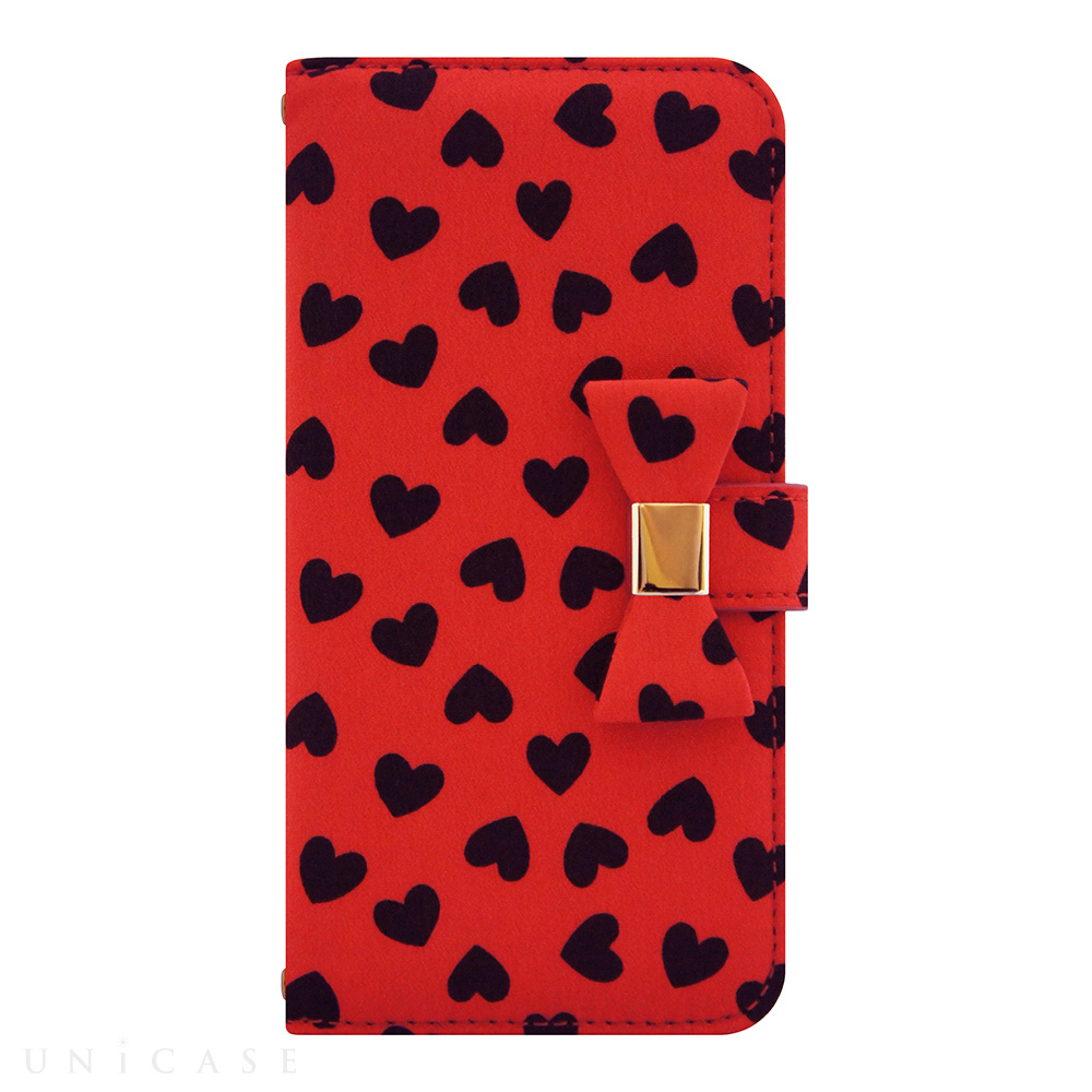 【iPhone6s/6 ケース】Ribbon Diary Heart Red for iPhone6s/6