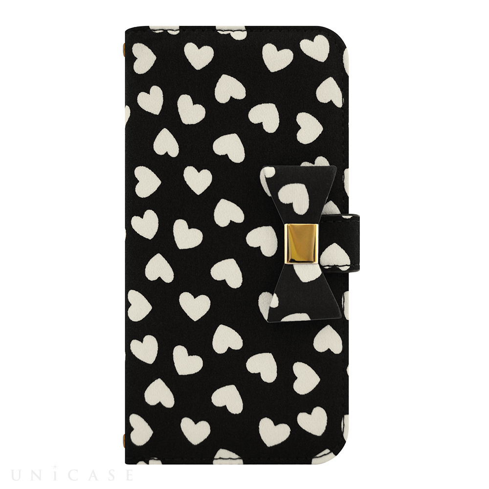 【iPhone6s/6 ケース】Ribbon Diary Heart Black for iPhone6s/6