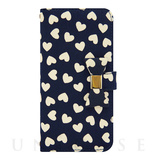【iPhone6s/6 ケース】Ribbon Diary Heart Navy for iPhone6s/6