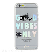 【iPhone6s/6 ケース】CLEAR (GOOD VIBES ONLY)