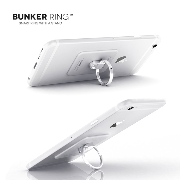 Bunker Ring Essentials <Multi Holder Pack> (Matte Silver)サブ画像