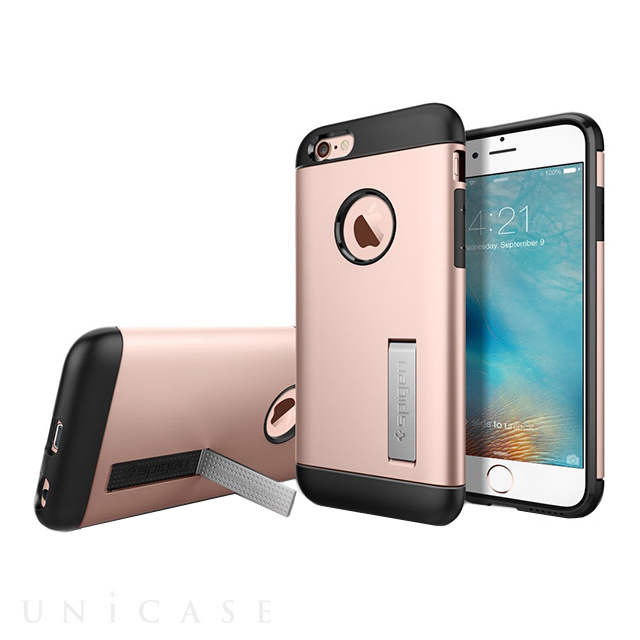 【iPhone6s/6 ケース】Slim Armor (Rose Gold)
