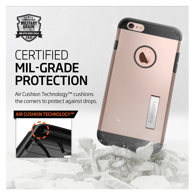 【iPhone6s Plus/6 Plus ケース】Tough Armor (Rose Gold)サブ画像