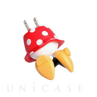 【ACアダプター】ディズニーキャラクター/USB-AC充電器 おしりシリーズ(ミニー)