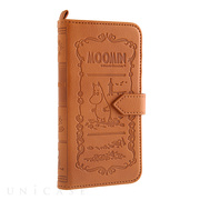 【iPhone6s/6 ケース】MOOMIN Notebook Case (ムーミン/ブラウン)
