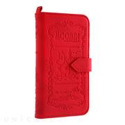 【iPhone6s/6 ケース】MOOMIN Notebook Case (ムーミン/レッド)